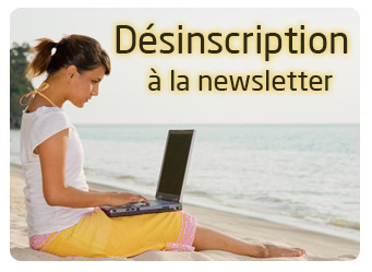 Désinscription de la newsletter